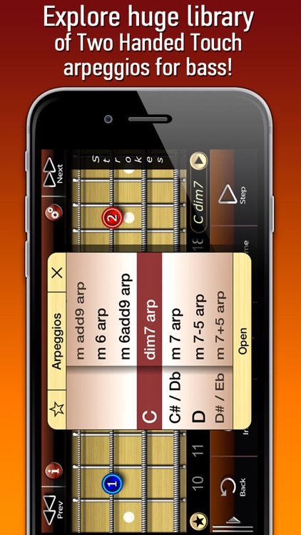 Bass Tapping Arpeggios