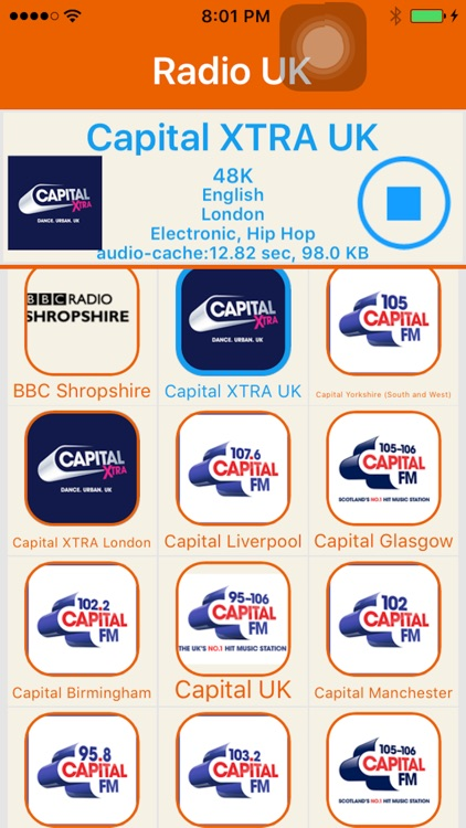 Radio UK -Include Capital FM,Smooth,Heart,Absolute by