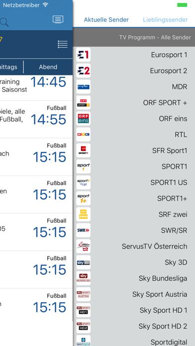 Sport im TV - Live TV Programm by Gregor Jutrisa (iOS