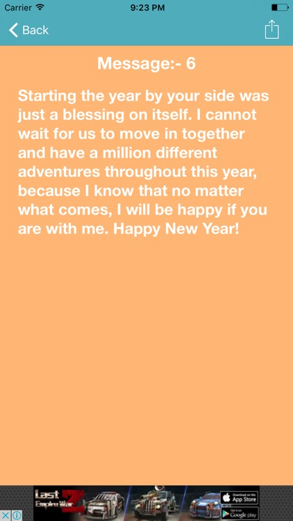Happy New Year 2017 Messages & Greetings screenshot-4