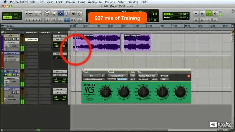 Course For Pro Tools 8 401- Mastering In Pro Tools screenshot-4