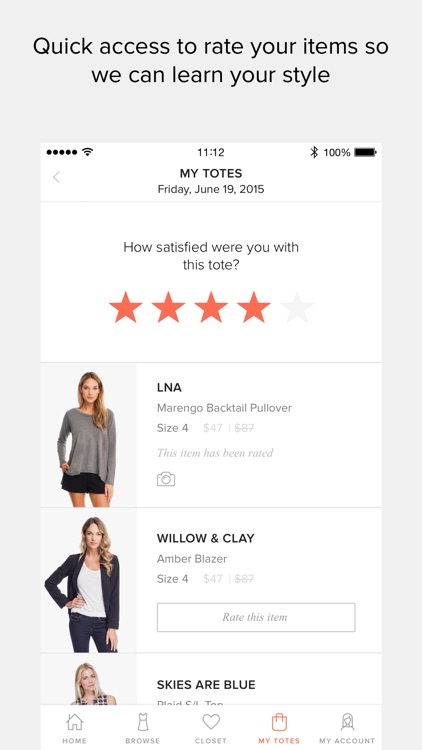 Le Tote - Women's Fashion Rental Service screenshot-4