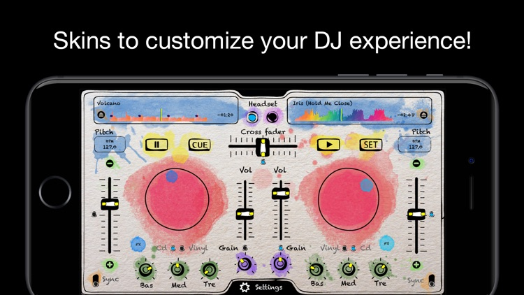 deej - DJ turntable. Mix, record, share your music screenshot-4