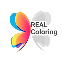 Real Coloring: Coloring Book Adults & Kids