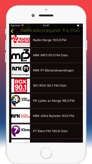 Radio Norge - Radio Norway / FM & Online Radios on the App Store
