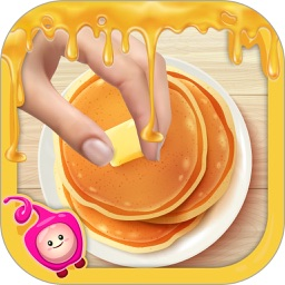 Pancake Cooking for Kids Breakfast
