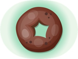 Hipster Donut is an awesome, useful and cool set of animated stickers of donuts such as donut care, donut go, donut go around in circles, etc