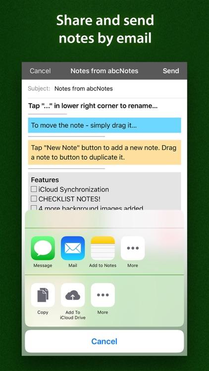 abc Notes Lite - ToDo, Checklist & Sticky Note screenshot-4