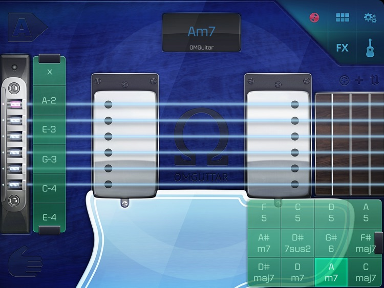 OMGuitar - Digital Guitar with FX and Autoplay screenshot-0