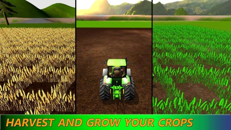 Farming Expert Game: Diesel Tractor Harvest Season