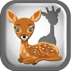 Little Animal shadows puzzle and Vocabulary icon