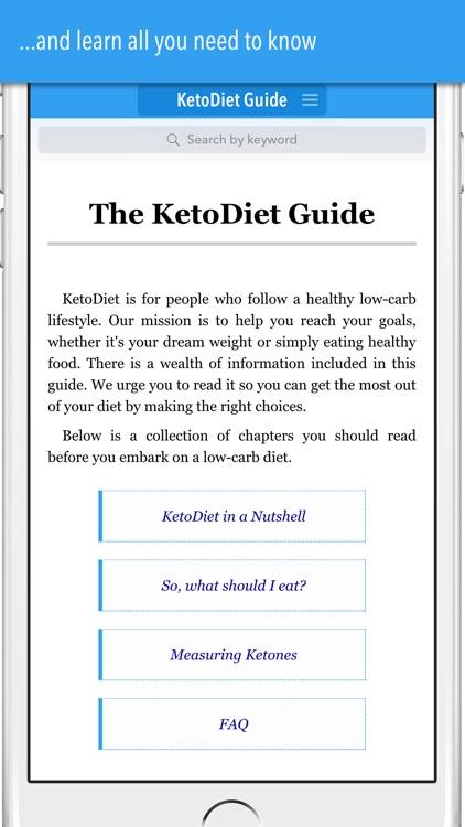 KetoDiet Basic screenshot-3