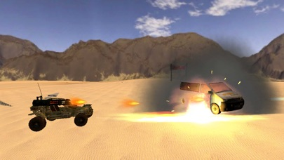 Armored Road Warrior Death Car Racing screenshot one