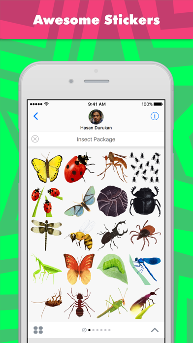 Insect Package stickers by Hasan screenshot one
