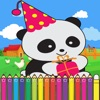 Panda Cute Coloring Games for kids Second Edition