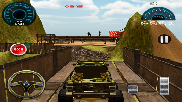 Army Rescue Truck Simulation Pro app image