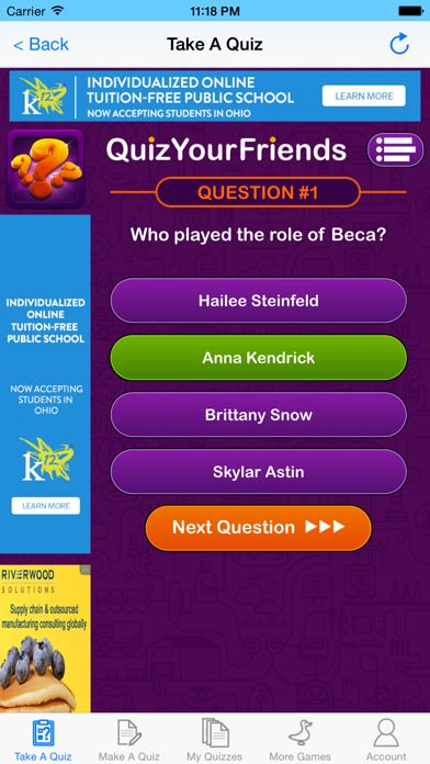 Quiz Your Friends - See who knows you the best! screenshot two