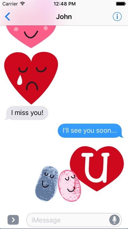 Valentine Smiles Sticker Pack screenshot-2