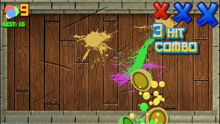 Ninja Slash - Color Balls Slicing Free Games screenshot-3