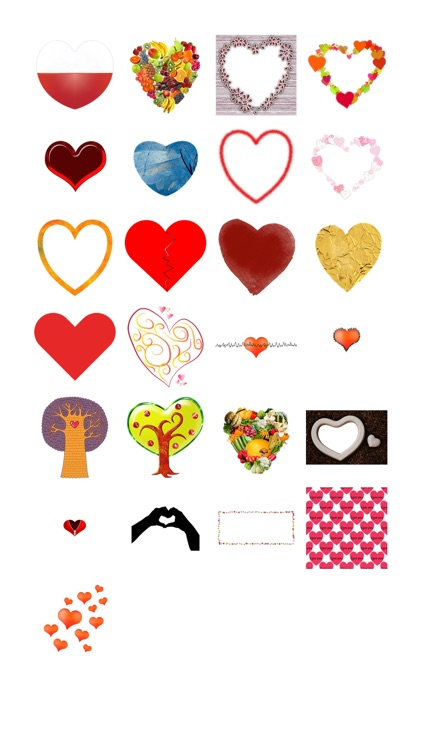 Hearts Sticker Pack!