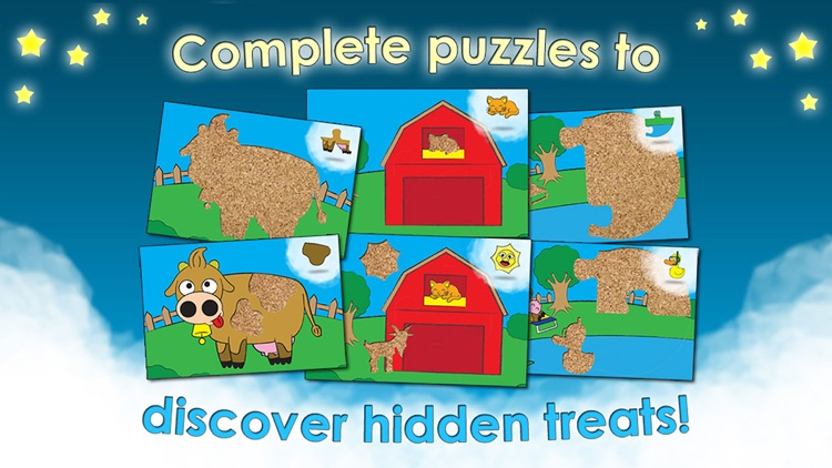 Farm Games Animal Puzzles for Kids Toddler Apps