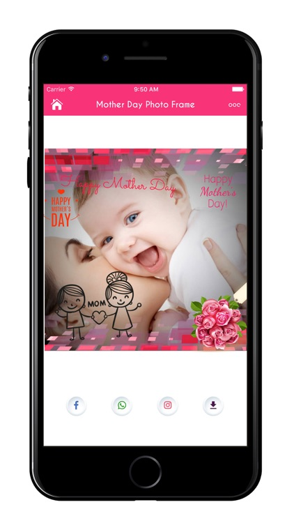 Mother's Day Greeting Cards & Frames screenshot-0