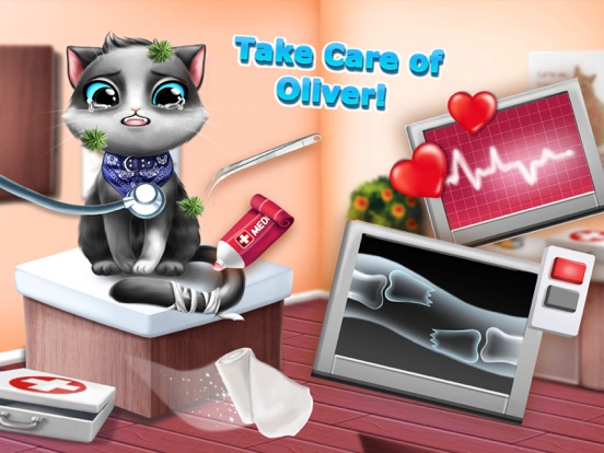 Sweet Baby Girl Cat Shelter – No Ads screenshot 9