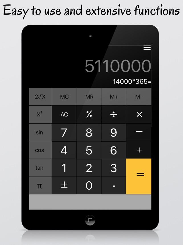 Calculator Pro For Ipad Free 4