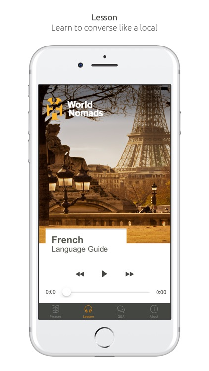 French Language Guide & Audio - World Nomads
