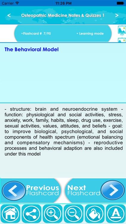 Osteopathic Medicine Exam Review App: Study Notes screenshot-4