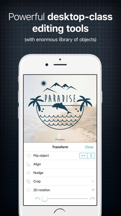 InstaLogo Logo Creator - Graphic design maker screenshot-3