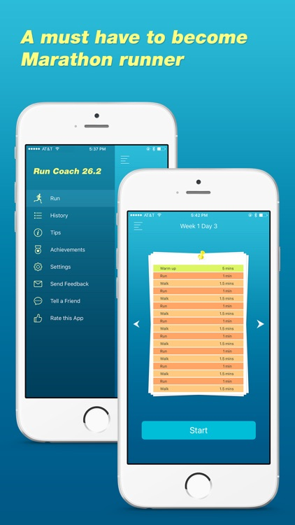 Run Coach Pro - Becoming Marathon Runner