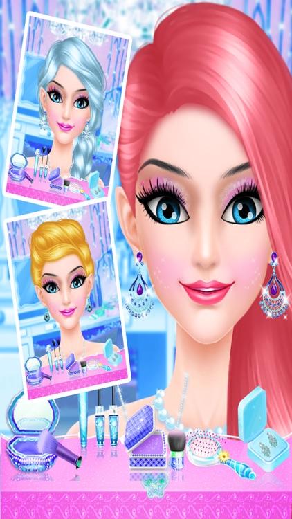 Ice Princess makeup salon : dress-up Parlor