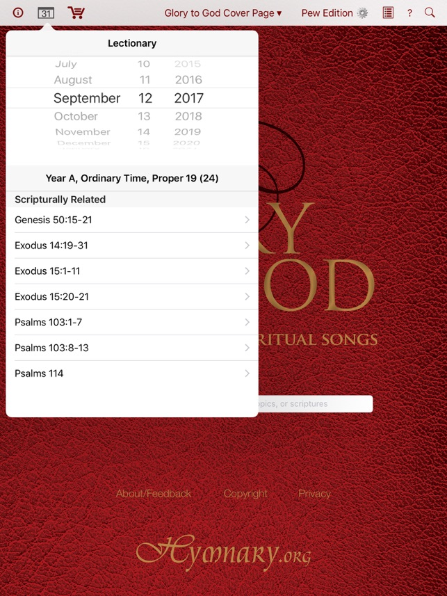 Glory to God: Hymns, Psalms, & Spiritual Songs on the App Store