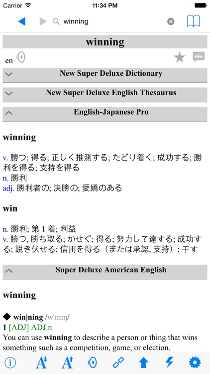 New English Japanese Deluxe Dictionary