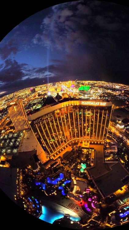 VR Las Vegas Strip Helicopter Virtual Reality 360 screenshot-3