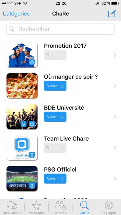 messages.download Live ChaRe software