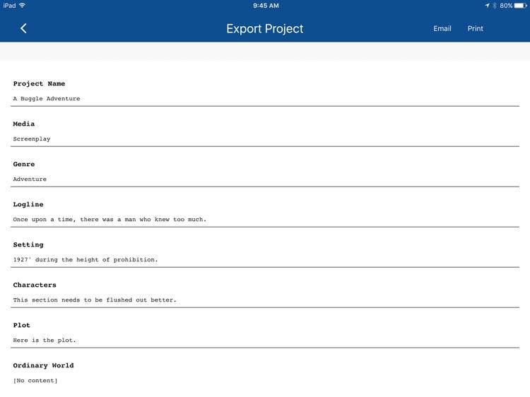 Story Blūprint screenshot-3