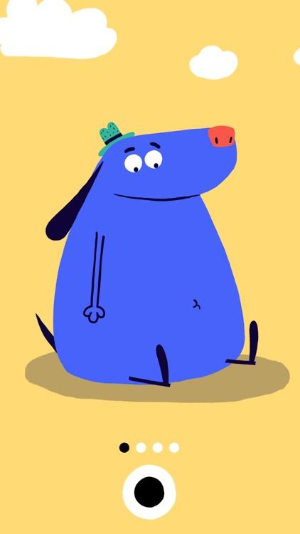 SZ Kinder-App: Der blaue Hund app image