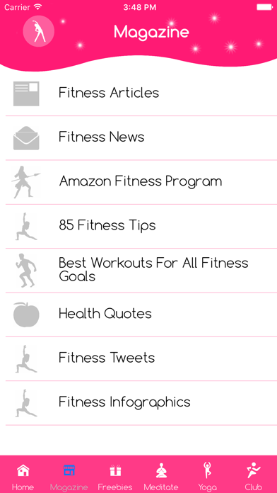 Booty and ab workout yoga ball screenshot one