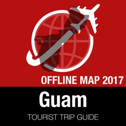 Guam Tourist Guide + Offline Map