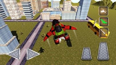 A Flying Motorcycle Simulator - Motor Bike flight