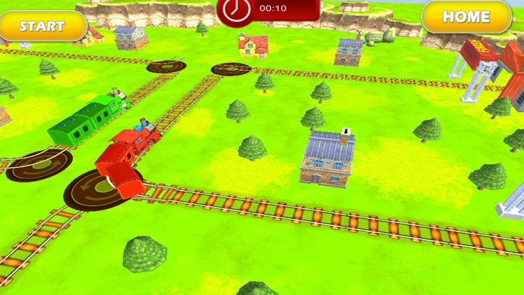 Tricky Train 3D Puzzle Game screenshot-3