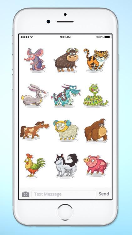Fun Zodiac Astrology Sticker Pack screenshot-3