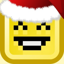 Santa Pixel - Christmas Season Stickers