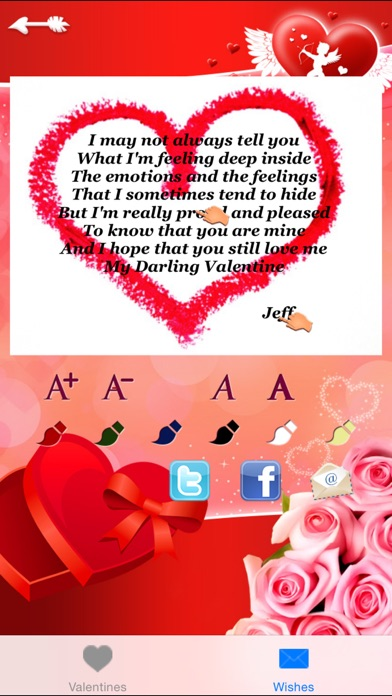 Love Message, Greetings & Cards Generator Free