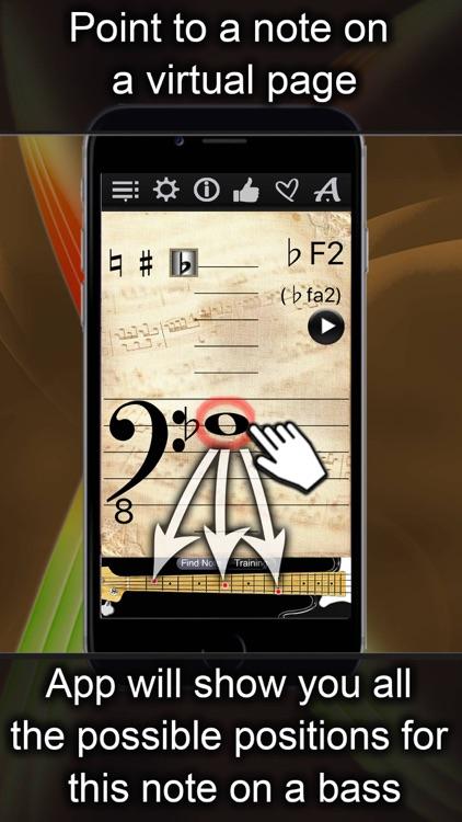 Bass Notes Finder screenshot-0
