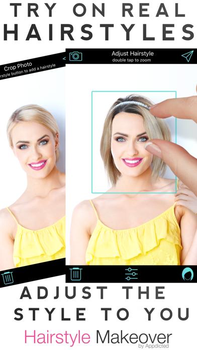 Haarfarben ausprobieren mit dem eigenen foto