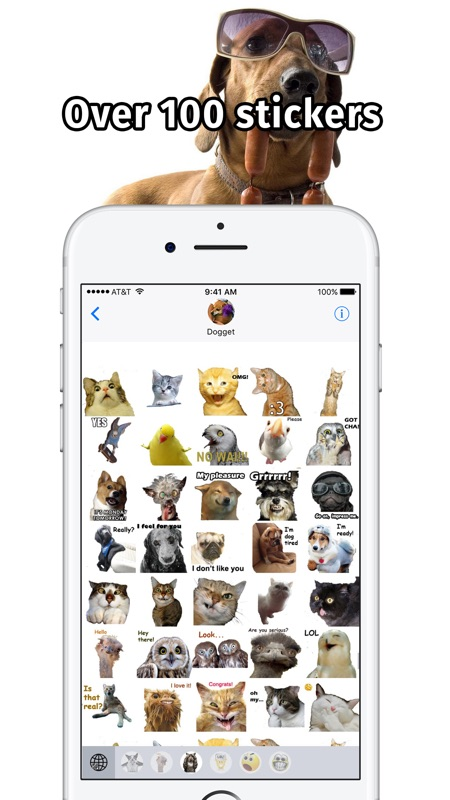Pet Emoji Keyboard – Funny Face Stickers for Text - Online Game Hack