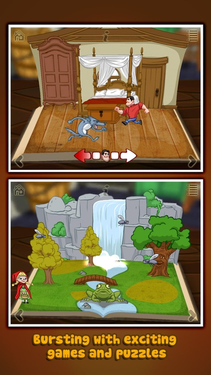 Grimm's Red Riding Hood ~ 3D Pop-up Book screenshot-3